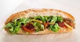 Philly-Cheese-Steak Sandwich